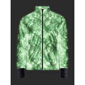 Craft Pro Glow In The Dark Lumen Chaqueta Hombre, negro/blanco